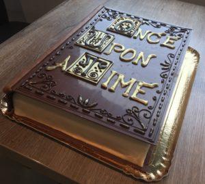 Boek gepersonaliseerde taart